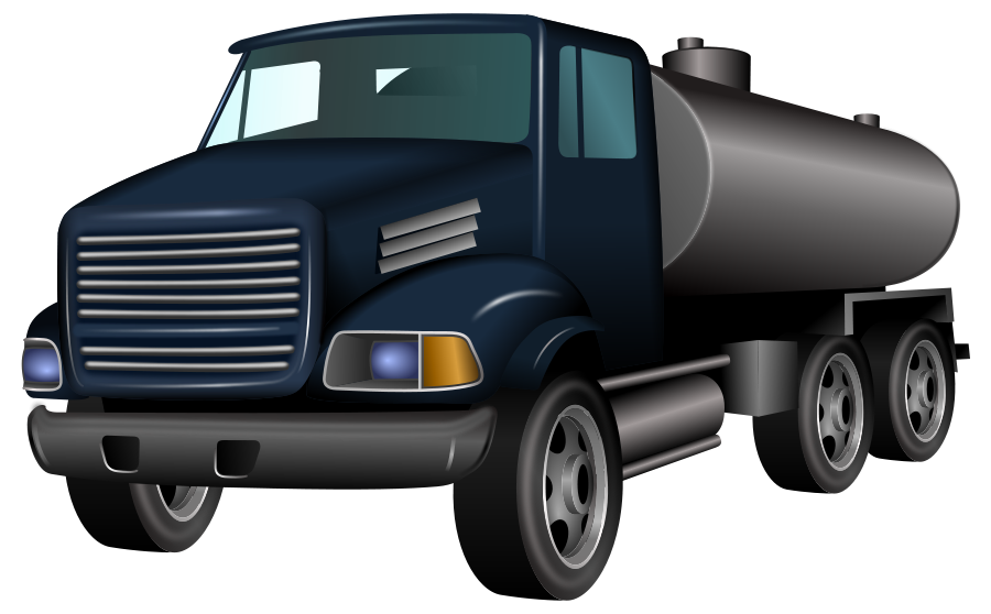 Cistern Truck SVG Vector file, vector clip art svg file.