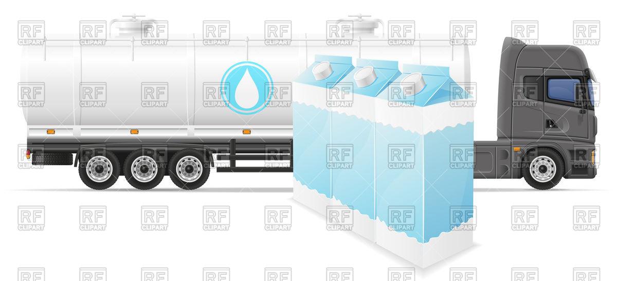 Tank truck (cistern).