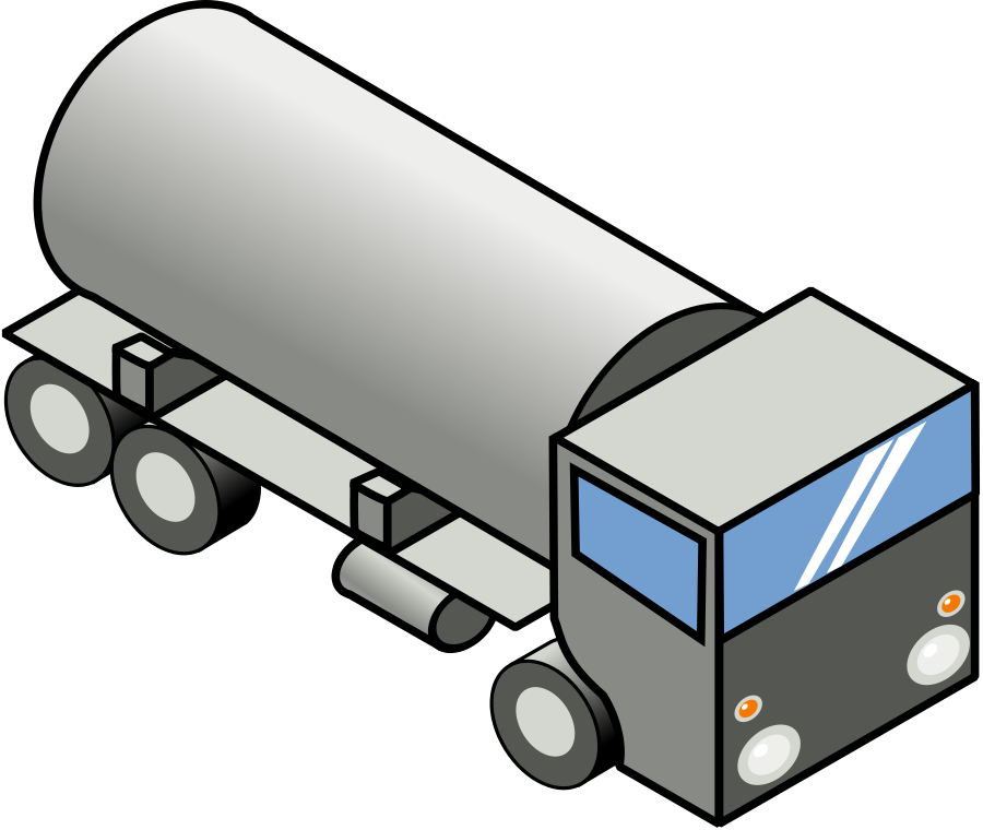Cistern Truck Clipart, vector clip art online, royalty free design.