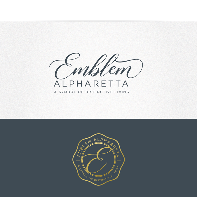 Create a Distinctive Logo for Emblem Alpharetta.