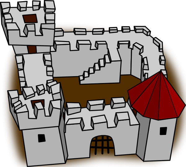 Fortress Clipart.