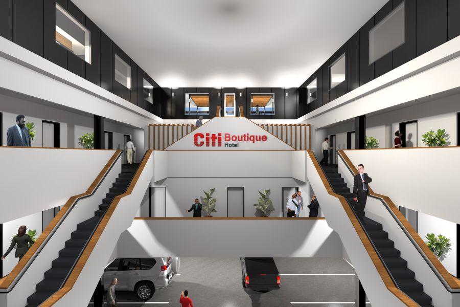 CitiGroup Rooftop Bar.