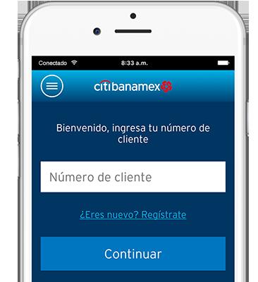 Citibanamex Móvil, Citibanamex´s mobile banking.