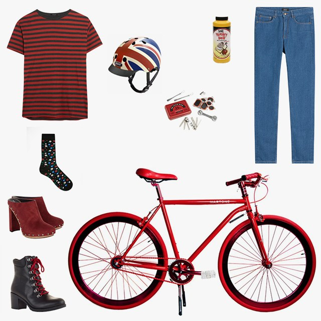 What to Wear for a Bike Date Night.