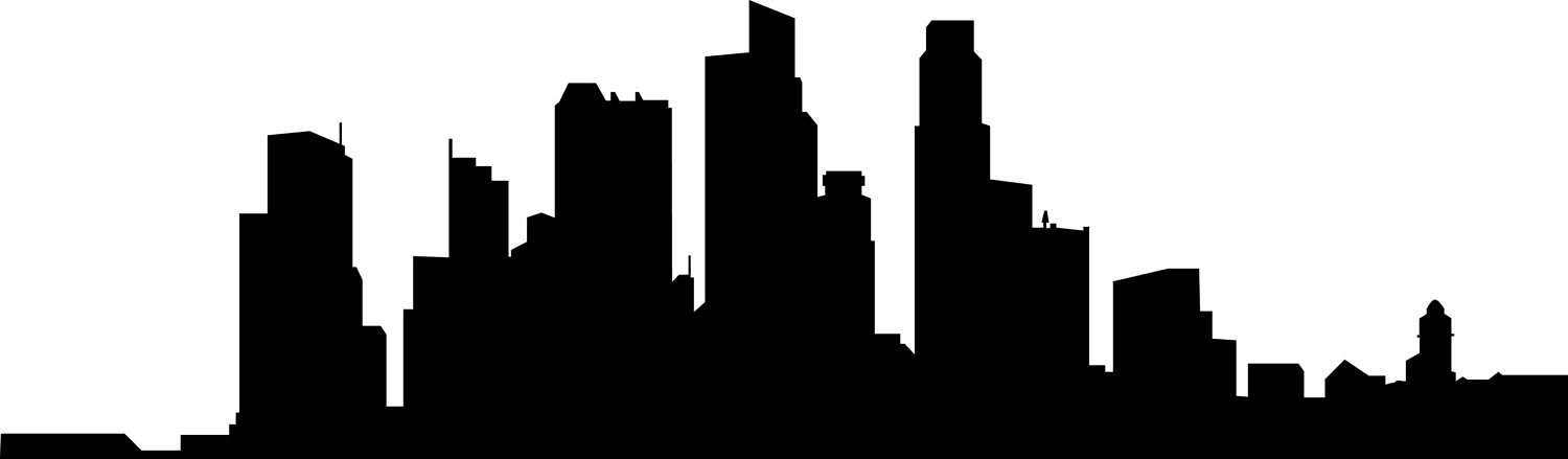 Silhouette City Skylines at GetDrawings.com.