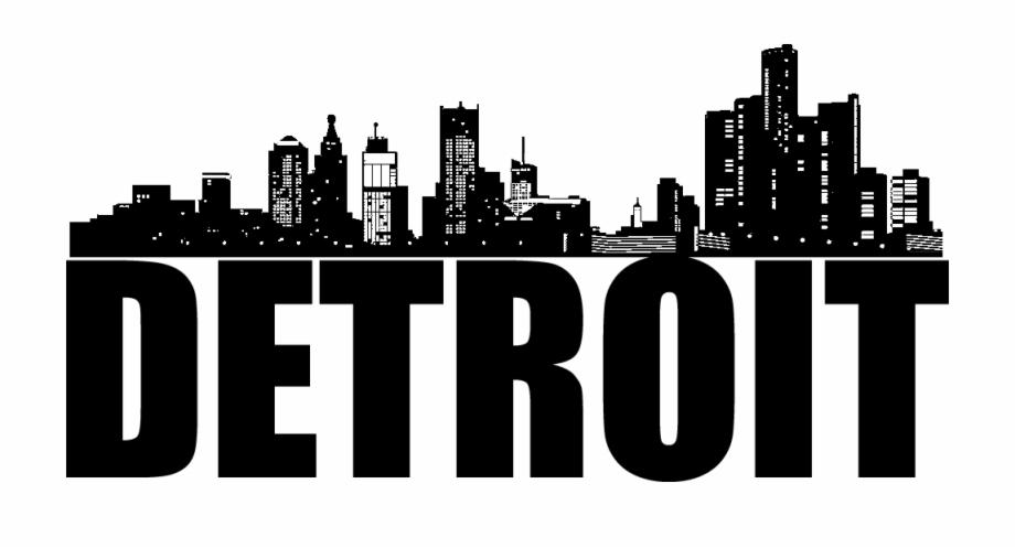 Detroit Mission Trip Detroit City Skyline Png.
