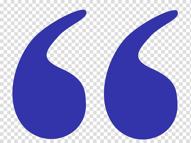 Quotation mark Punctuation Citation Dash, mark transparent.