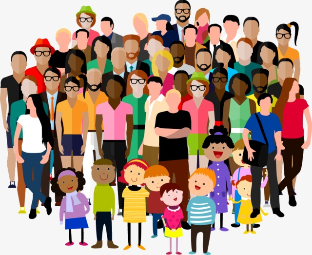 Community Character, Character Clipart, Citizen, Crowd PNG.