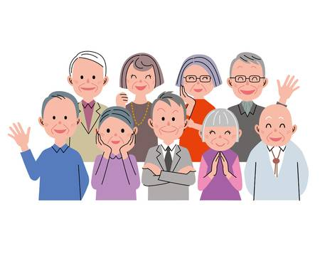 4,854 Senior Citizen Stock Illustrations, Cliparts And Royalty Free.