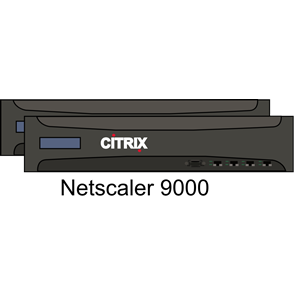 Citrix Netscaler 9000 pair clipart, cliparts of Citrix Netscaler.