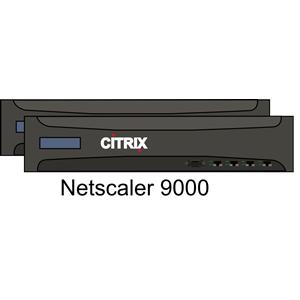 Citrix Netscaler 9000 pair clipart, cliparts of Citrix Netscaler.