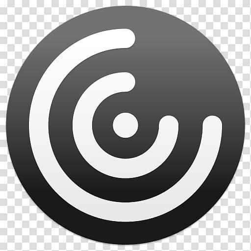 White and black power logo illustration, Citrix Receiver.