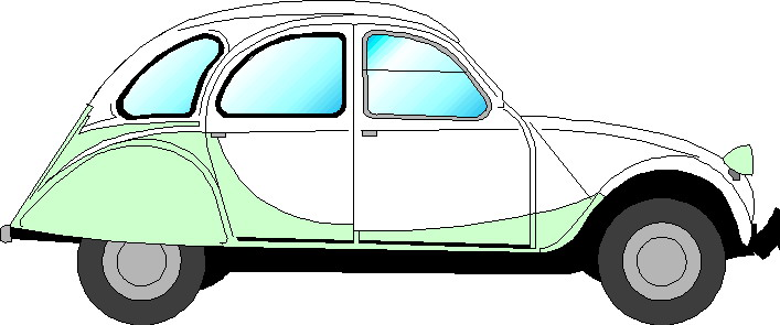 2cv Cartoon.