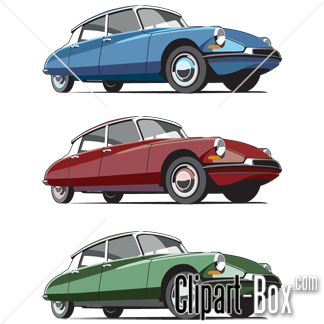 CLIPART CITROEN DS.