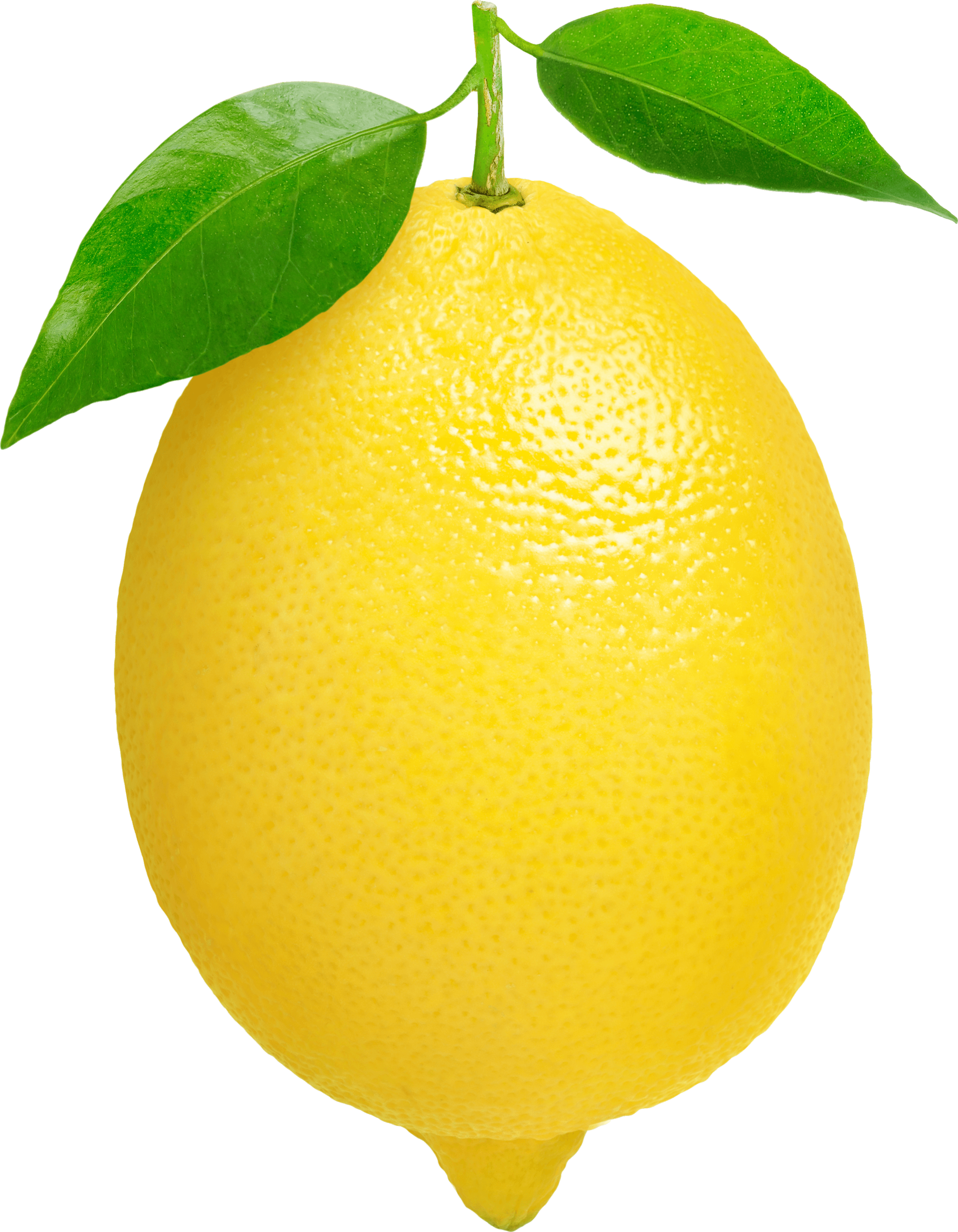 Un Citron PNG transparents.