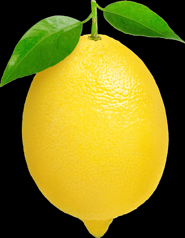 Un Citron PNG transparents.