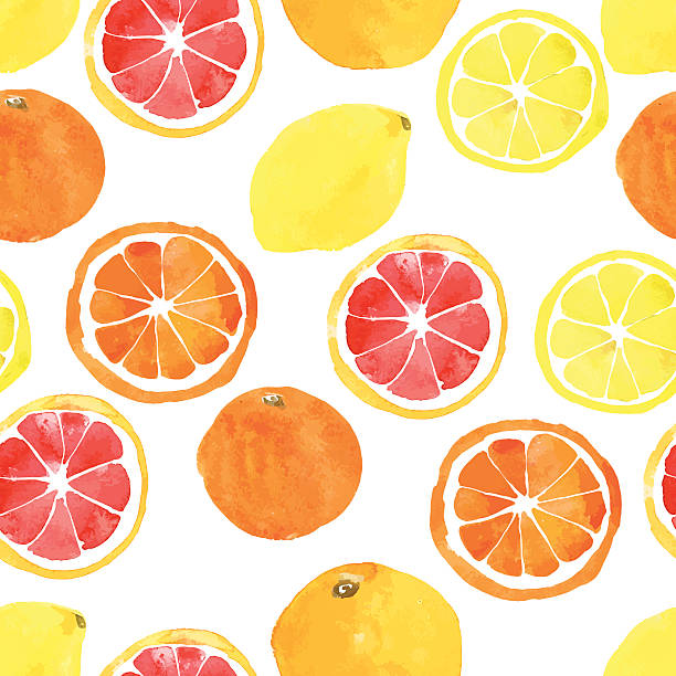 Best Citrus Illustrations, Royalty.
