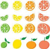 Citrus Clip Art Vector Graphics. 12,903 citrus EPS clipart vector.