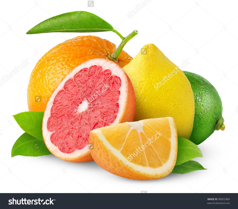Citrus fruits clipart #10