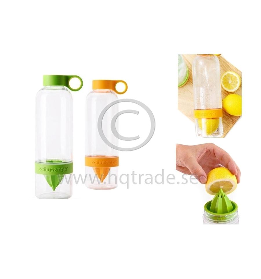 Citrus press bottle.