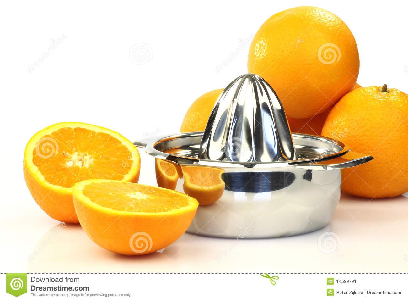 Citrus Press Stock Image.