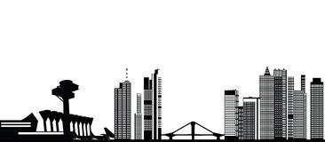 Frankfurt Main City Administration Stock Illustrations.