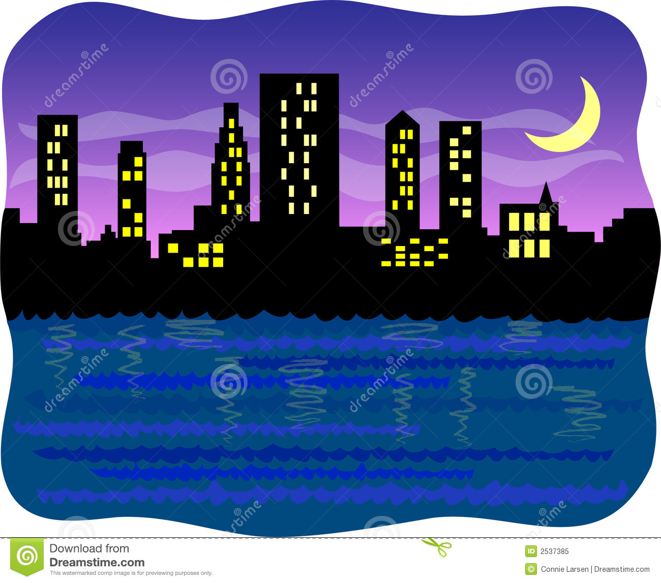 Hd clipart night city.