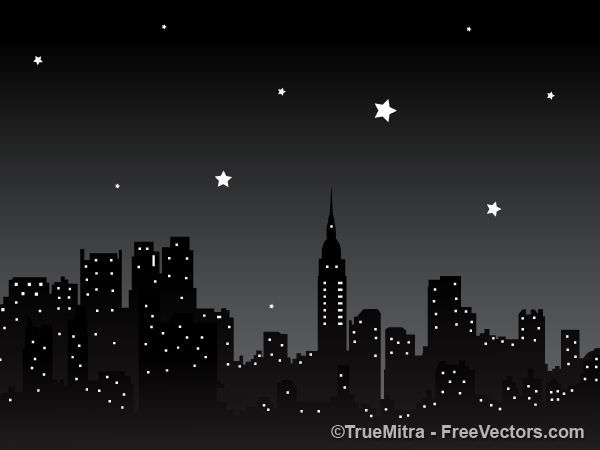 Night City Background.