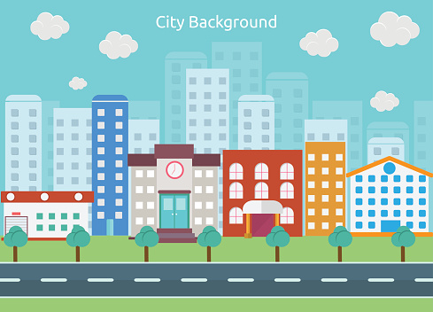 Free City Background Cliparts, Download Free Clip Art, Free Clip Art.