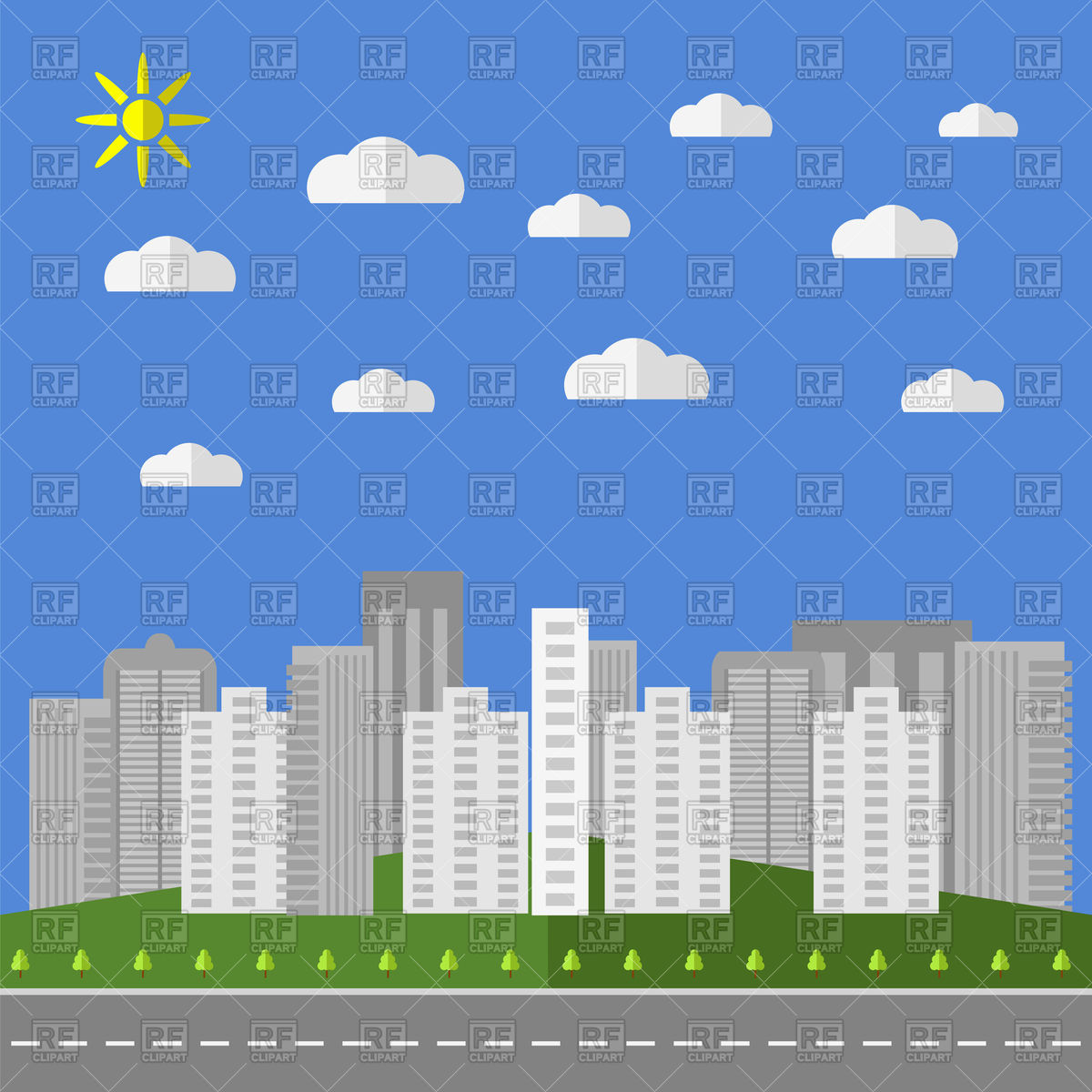 City Background Cliparts Free Download Clip Art.