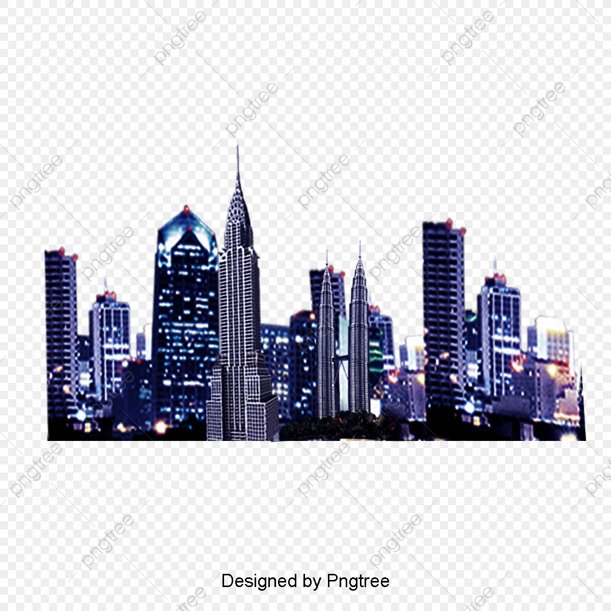 Night City Background, Night Cityscape, City Night Background PNG.