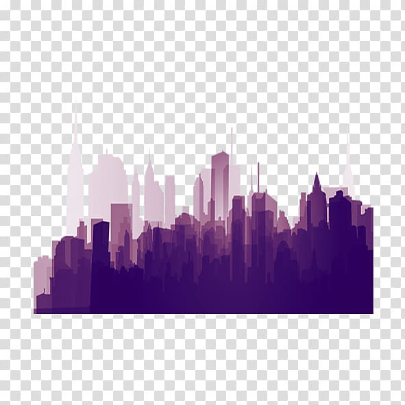 Silhouette, city transparent background PNG clipart.