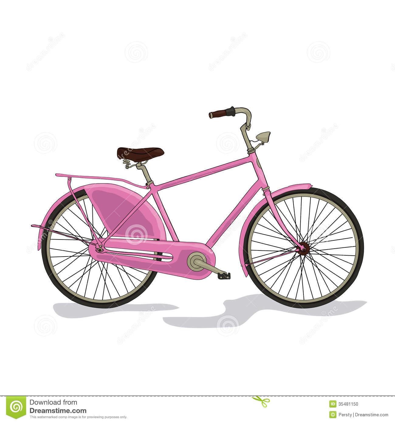 City bike clipart #4