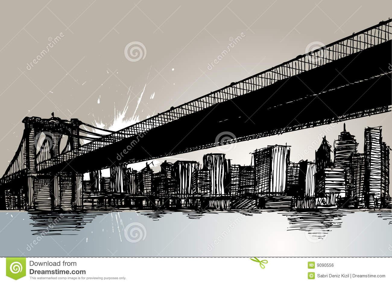Brooklyn Stock Illustrations.