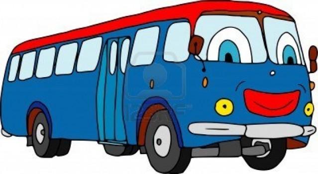Clip art city bus.