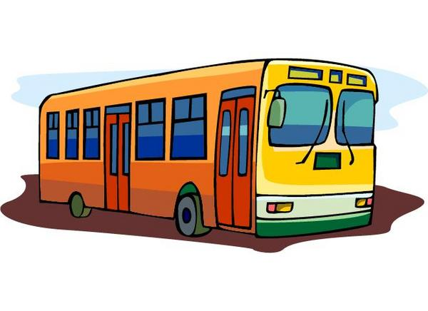 Clipart city bus.