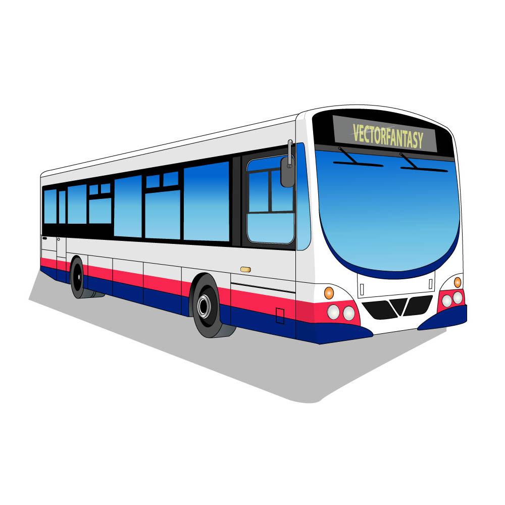 City Bus Clipart.
