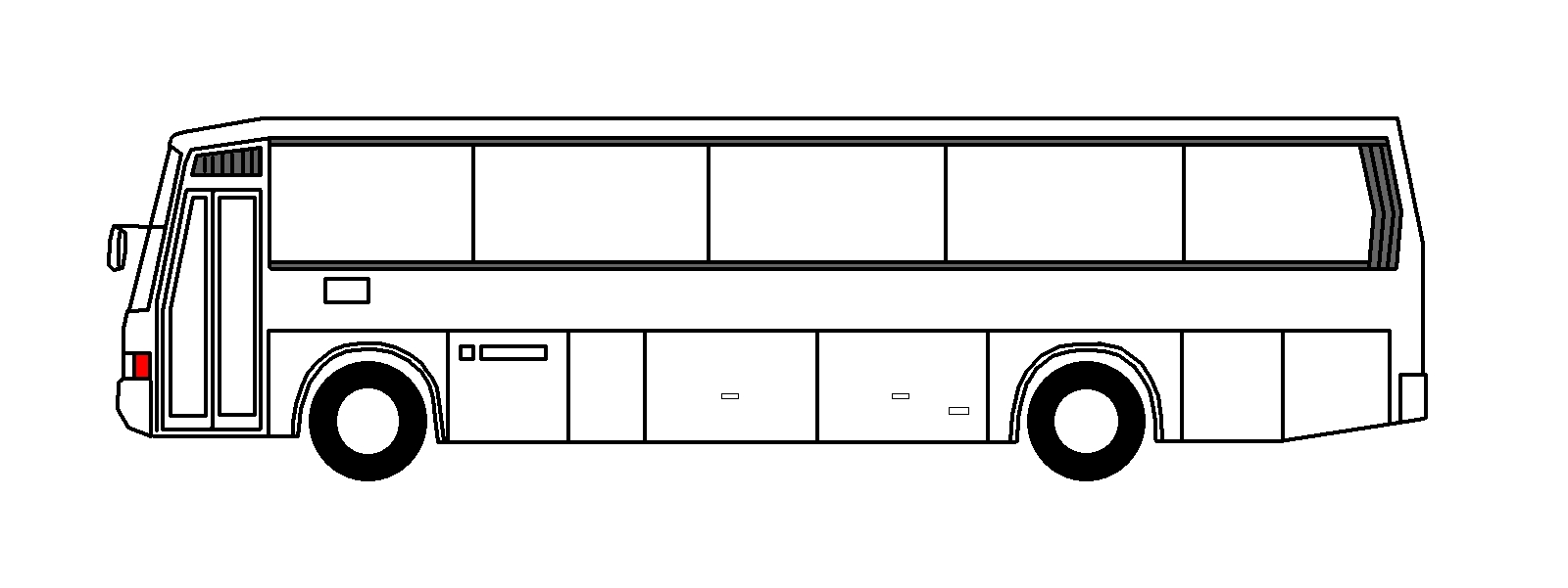 Bus clipart side view, Bus side view Transparent FREE for.
