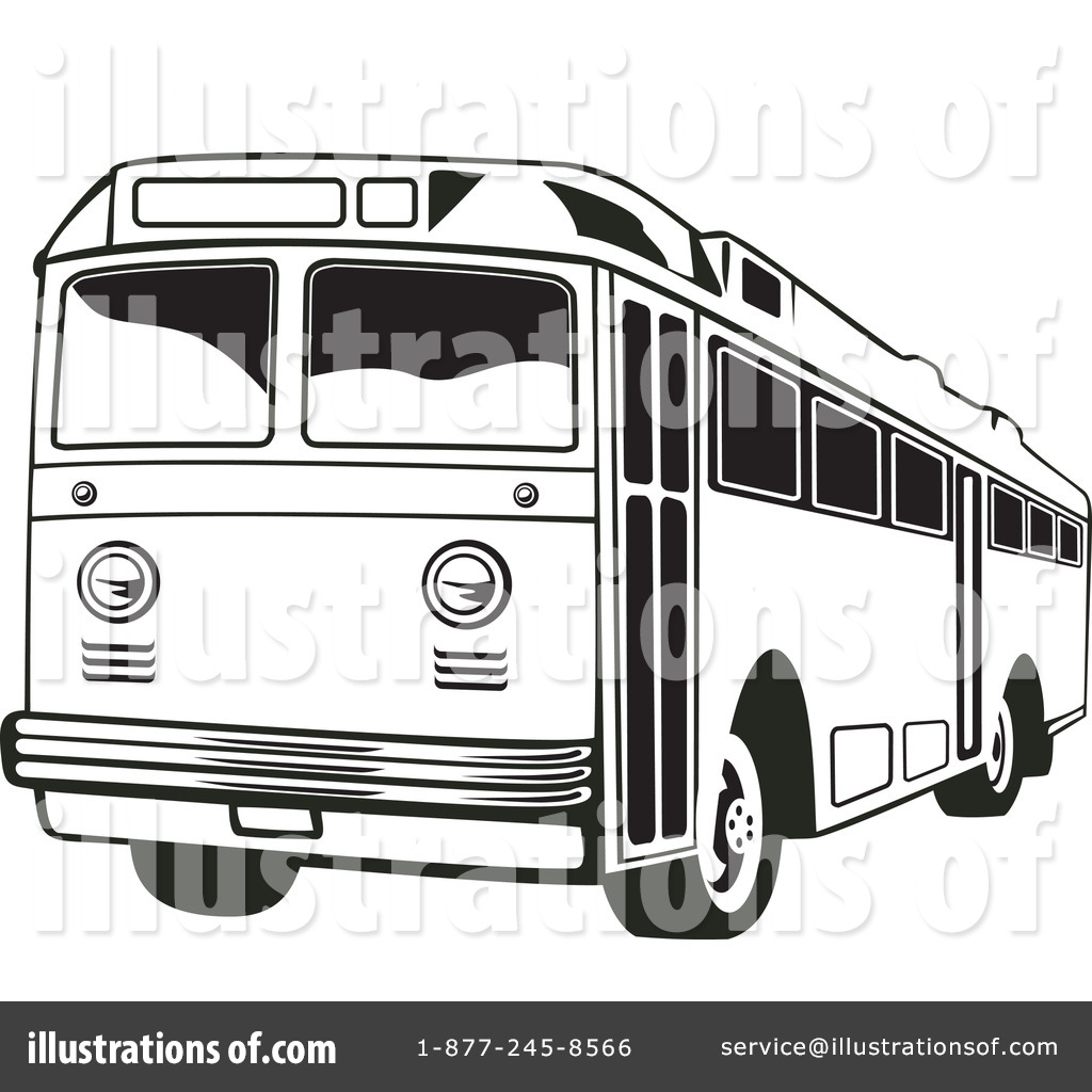 City bus clipart black and white 5 » Clipart Station.