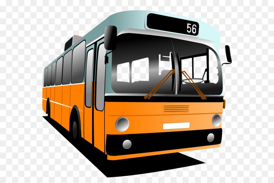 Bus Cartoon png download.