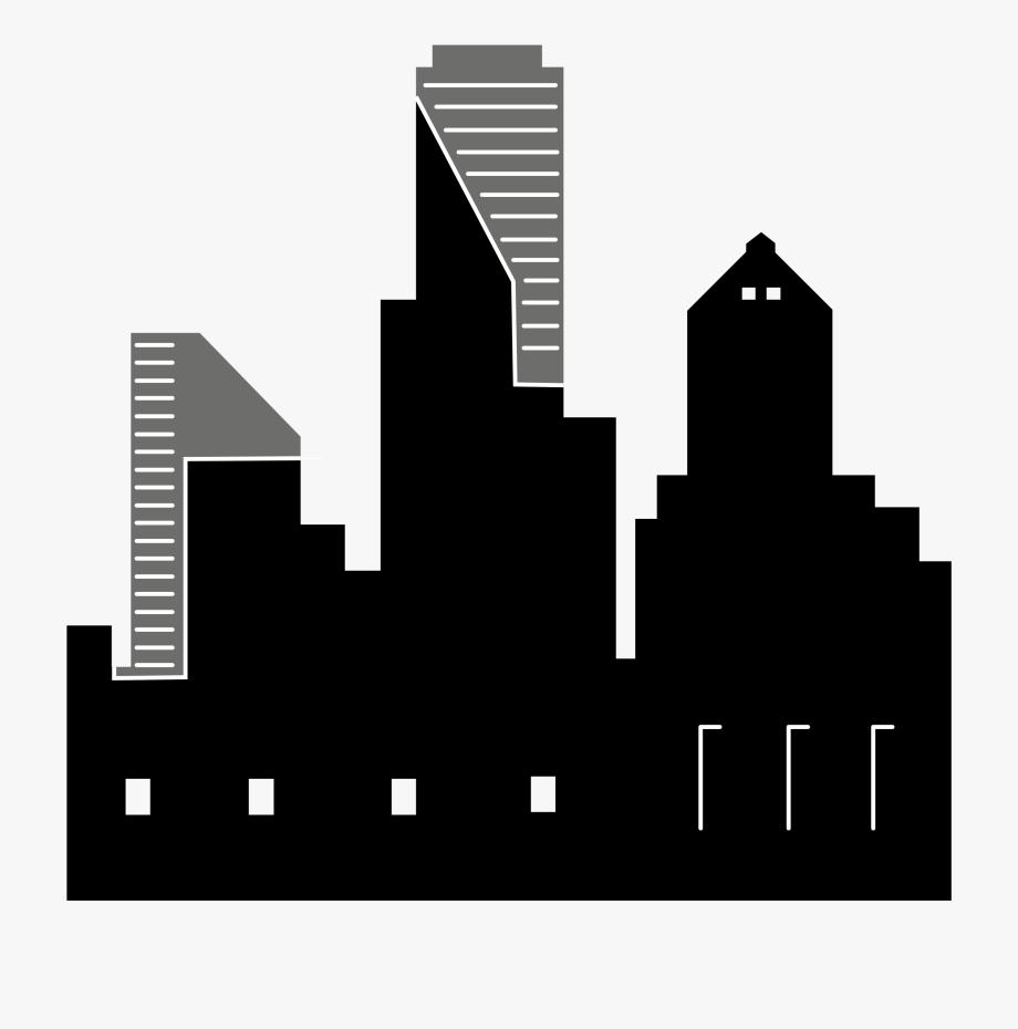 Skyline Silhouette Clip Art For Liturgical Year City.