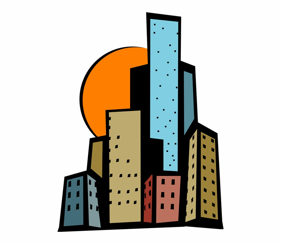Tall City Building Clipart Free Download Png.