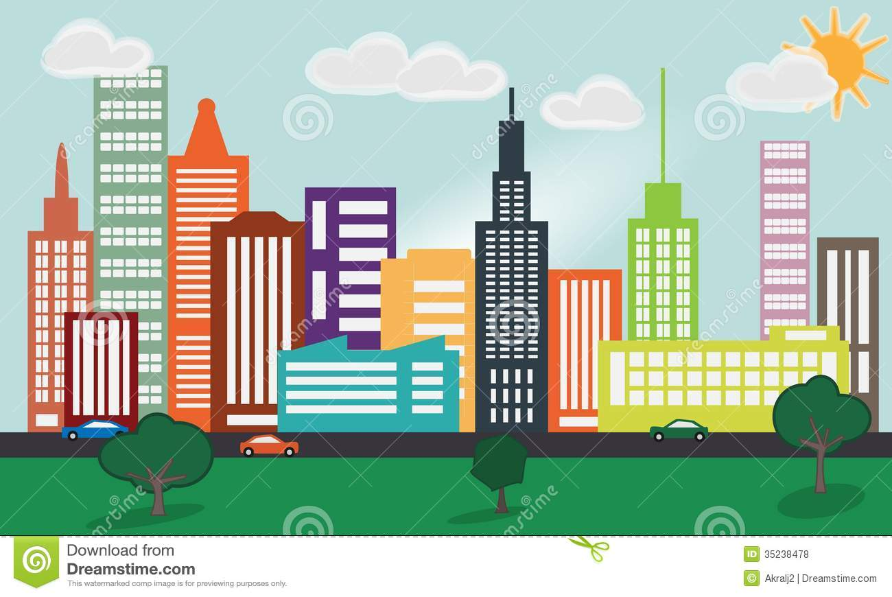 Cities clipart 3 » Clipart Station.