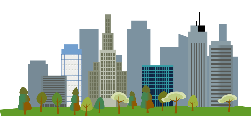 Cityscape city skyline clipart 4 clip art free image.