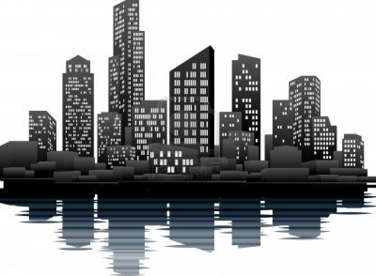 City Clipart Vector.