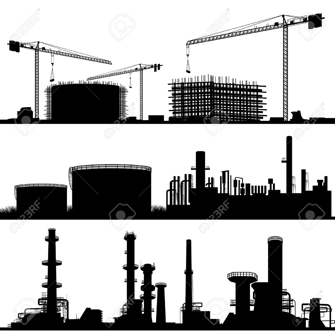 City construction site clipart - Clipground
