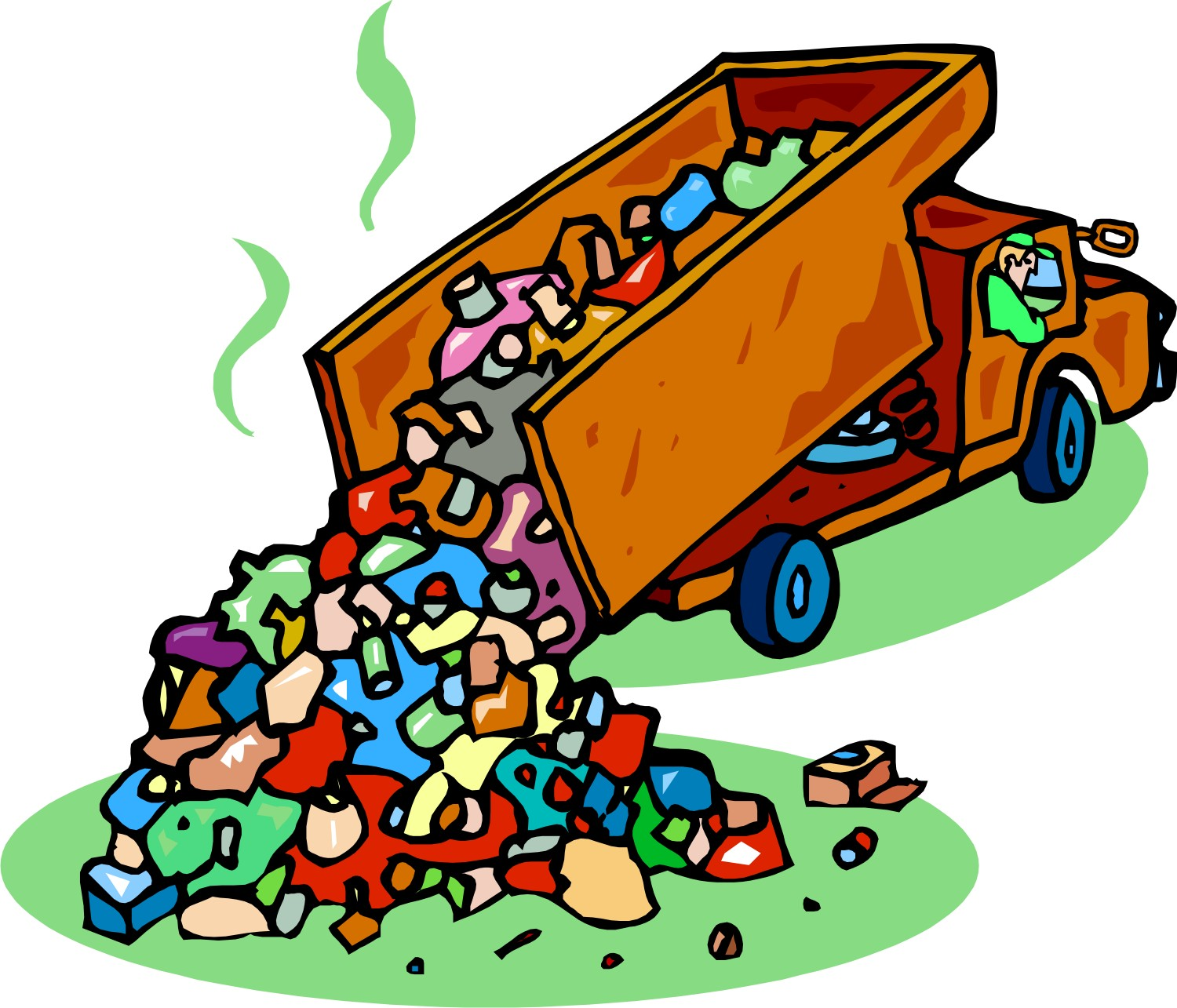 Garbage Place Clipart.