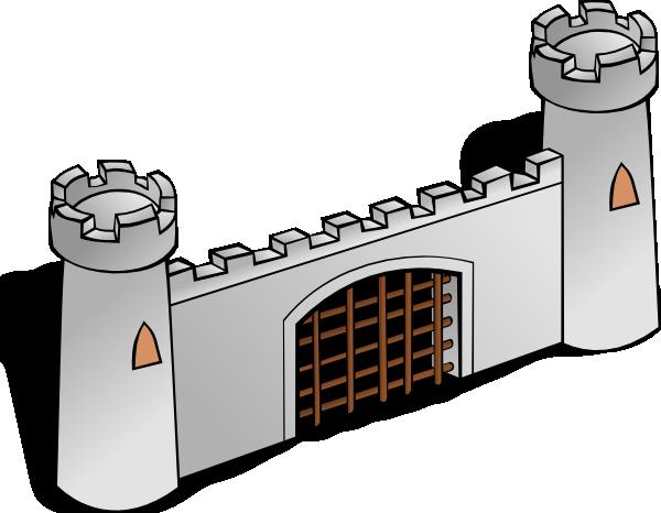 City gate clipart #18