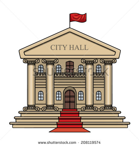 City hall clipart.