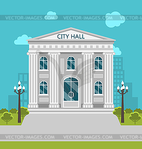 Building, City Hall, Government, Court.